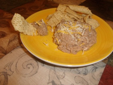Non-fried Re-fried Beans